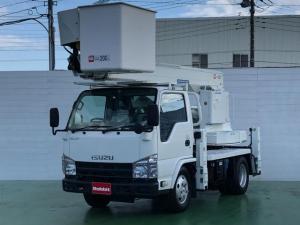 いすゞ エルフトラック  3.0Dターボ 高所作業車 アイチ製SS12A 11.9m バックモニター パーキング付スムーサー キーレス ETC