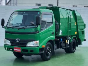 トヨタ ダイナトラック  4.0Dターボ プレス式パッカー車 4.1立米 2t積 連続運転 5速MT