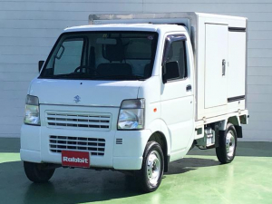 スズキ キャリイトラック  冷蔵冷凍車 -5℃設定 左サイドドア 4WD 5速マニュアル リアワンタッチドア