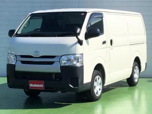 トヨタ ハイエースバン  2.0ガソリン車 冷蔵冷凍車 -7℃設定 純正ナビTV ミラー内蔵バックモニター ビルトインETC 電格ドアミラー