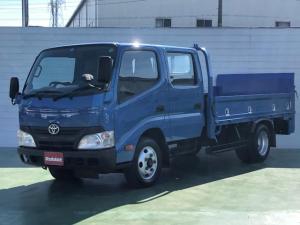 トヨタ ダイナトラック  4.0Dターボ Wキャブ 標準ロング パワーゲート付 積載2t 荷台床鉄板 あおりロープ穴