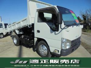 いすゞ エルフトラック 高床 強化ダンプ 積載量2トン 平成23年式 全塗装仕上げ