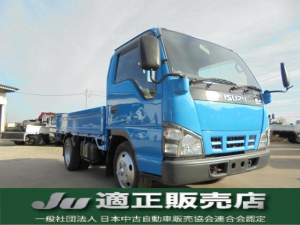 いすゞ エルフトラック  積載量2トン フルフラットロー スムーサー