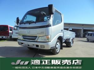トヨタ トヨエース ロングフルジャストロー 4WD 積載量1.3トン ディーゼル