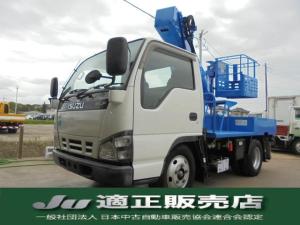 いすゞ エルフトラック  高所作業車 アイチ製 9.7m 走行44421km