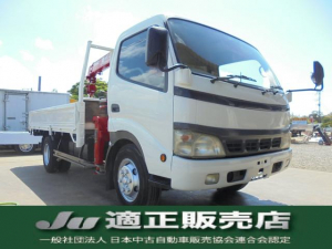 トヨタ トヨエース  ユニック4段クレーン 2.9t吊 積載量3t
