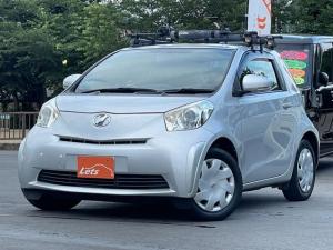 トヨタ iQ 100G 禁煙車 Pナビ ワンセグ ルーフキャリア サイドエアバッグ スマートキー2本