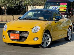 ダイハツ コペン セロ 1オーナー車 5MT ナビ ETC ドラレコ 純正オプションシートカバー 左右シートヒーター LEDライト フォグ