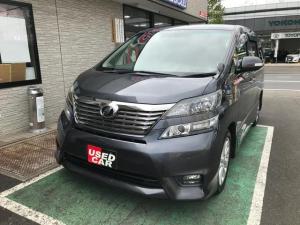 トヨタ ヴェルファイア 2.4Z プラチナムセレクション HDDナビ・フリップダウンモニター・両側電動スライドドア