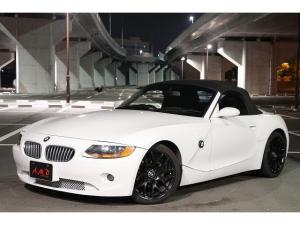BMW Z4 2.5i 社外18インチホイール 黒 本革シート