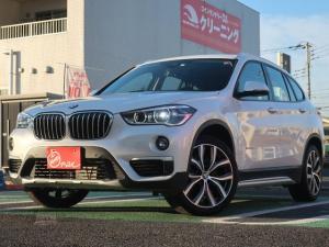 BMW X1 xDrive 20i xライン メーカーナビ Pバックドア シートヒーター バックカメラ ETC レーダークルーズ ヘッドアップディスプレー ドライビングアシスト 純正OP19インチAW 革シート スマートキー