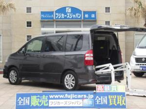 トヨタ ノア Si 福祉車輌 ライラックリアリフト 純正SDナビ