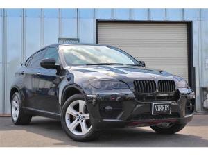 BMW X6 xDrive 35i ユーザー買取車両 8AT N55型エンジン 黒革 サンルーフ コンフォートアクセス 純正19インチAW 純正ナビ&TV