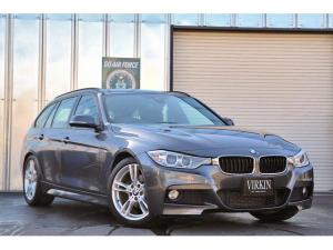 BMW 3シリーズ 320dツーリング Mスポーツ インテリジェントセーフティ パワーバックドア コンフォートアクセス PDC クルコン パドルシフト idriveナビ バックカメラ HIDライト 18インチアルミ Mコレクション DVD再生 ETC
