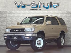トヨタ ハイラックスサーフ SSR-X サンルーフ HDDナビ クラシックナロー仕様 TOYOTAオリジナルグリル 2インチリフトアップ 新品DEAN CROSS COUNTRY16インチアルミホイール 4WD