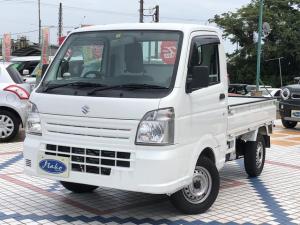 スズキ キャリイトラック KCエアコン・パワステ 社外ナビ 地デジTV ETC 4WD 5MT
