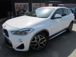 BMW X2 xDrive 20i MスポーツX アドバンスドセーフティPKG 4WD・ワンオーナー 純正ナビ Bカメラ 前後ソナー 半革シート シートヒーター アクティブクルコン 電動ゲート Mスポ19アルミ 衝突回避 軽減ブレーキ LEDライト