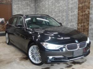 BMW 3シリーズ 335iツーリング ラグジュアリー ワンオーナー 黒革シート 純正HDDナビTVカメラ