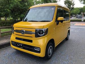 ホンダ N-VAN+スタイル ファン 4人乗 4WD フルLEDヘッドライト インテリキー