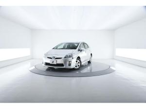 トヨタ プリウス G LEDエディション 特別仕様 黒茶レザーシート クルコン LED