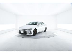 トヨタ マークX 250G Sパッケージ G's 特別仕様車 柿本マフラー 専用半革シート