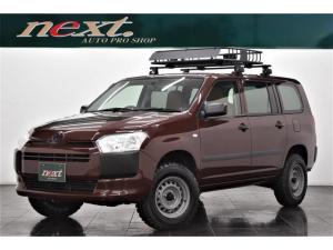 トヨタ プロボックス GL 4WD ナビ 地デジTV ワンセグ ETC 新品MTタイヤ リフトアップ キャリアラック カスタム キーレス 電動格納ミラー