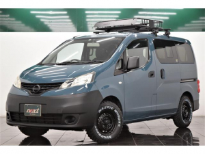 日産 NV200バネットワゴン 16S 7人乗り 純正メモリーナビ バックカメラ Bluetooth ETC 新品ルーフラック ブラックアウトホイール 新品マッドタイヤ アウトドアカスタム