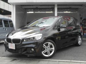 BMW 2シリーズ 218dグランツアラー Mスポーツ ワンオーナー プリクラッシュブレーキ 純正ナビ