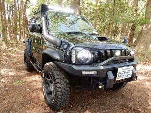 スズキ ジムニー 660 ワイルドウインド 4WD  ブラック