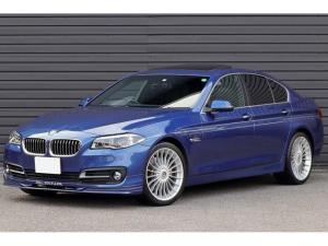 BMWアルピナ D5 ターボ リムジン ワンオーナー 後期LCIモデル OPカラー/アルピナブルー ガラスサンルーフ ヘッドアップディスプレイ アダプティブLEDライト ソフトクローズドア ALPINA20AW 純正ナビ Bカメラ 記録簿有