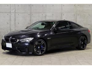 BMW M4 M4クーペ OP19AW 黒革 カーボンインテリア 1オーナー車 ドライビングアシスト レーンディパーチャー ヘッドアップディスプレイ LEDヘッドライト ナビ フルセグ バックカメラ Mエキゾーストシステム