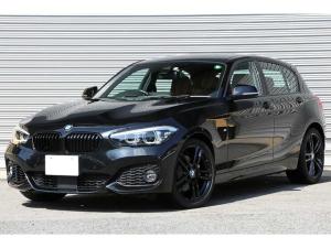 BMW 1シリーズ 118i Mスポーツ エディションシャドー 特別仕様車 コニャックレザー パーキングサポートP コンフォートP Bカメラ ACC ドライビングアシスト ダークカラーLEDヘッドライト 純正18インチAW iDriveナビ HiFiサウンド