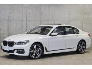 BMW 7シリーズ 740d xDrive Mスポーツ 1オーナー リアコンフォートPKG リアエンタメ サンルーフ ナッパレザー 20AW レーザーライト ドライビングアシスト+ harman/kardon ヘッドアップディスプレイ アクティブクルーズ