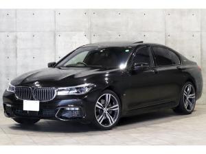 BMW 7シリーズ 740eアイパフォーマンス Mスポーツ 1オーナー サンルーフ 茶革 レーザーライト ドライビングアシスト 前後席シートヒーター フロントベンチレーション HUD harman/kardon フルセグ 3Dビューソフトクローズドア 20AW