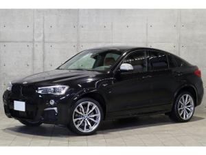 BMW X4 M40i 1オーナー 直6ターボエンジン 茶革 ハーマンカードン 20AW ダイナミックダンパー アダプティブLEDライト アクティブクルーズコントロール ヘッドアップディスプレイ シートヒーター トップビュー