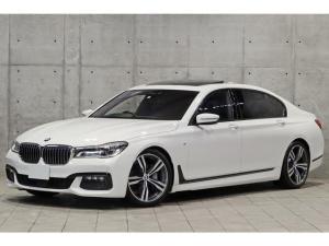 BMW 7シリーズ 740Li Mスポーツ リヤコンフォートPKGプラス リアエンタメ スカイラウンジSR 前後席ヒーター&クーラー ハンドルヒーター アンビエントエアPKG OP20AW ACC パークアシスト iDrive TV 3Dビュー