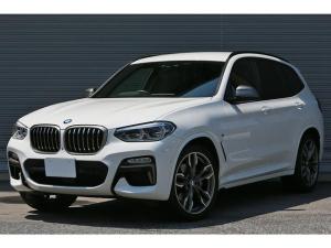 BMW X3 M40d 1オーナー パーキングアシストプラス harman/kardonサウンド アダプティブLEDヘッドライト ヘッドアップディスプレイ 全席シートヒーター MエアロダイナミクスP 21インチAW
