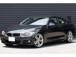 BMW 4シリーズ 440iクーペ Mスポーツ New直6E/G 1オーナー 黒革シート ACC 19AW ヘッドアップディスプレイ iドライブナビ Bカメラ 地デジ ウッドトリム ドライビングアシスト レーンチェンジウォーニング Mスポーツサス