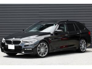 BMW 5シリーズ 540i xDriveツーリング Mスポーツ パノラマサンルーフ Mスポーツブレーキ 黒革 3Dビュー アクティブクルーズ 専用19インチAW  地デジTV レーンチェンジウォーニング ウッドインテリアトリム LEDヘッドライト 1オーナー車