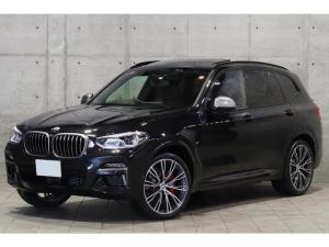 BMW X3 M40d マイルドハイブリッド搭載モデル 新車保証 ファストトラック&セレクトPKG パノラマSR Mスポーツブレーキ Individual21インチAW ACC アダプティブMサス 1オーナー車