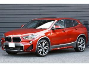BMW X2 xDrive 20i MスポーツX セレクト&デビューPKG OP20AW 1オーナー アドバンスドアクティブセーフティPKG パノラマサンルーフ モカレザー ACC ヘッドアップディスプレイ LEDライト Mスポブレーキ D点検記録簿