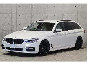 BMW 5シリーズ 523dツーリング Mスポーツ デビューPKG ベージュダコタレザーシート ヘッドアップディスプレイ ソフトクローズ  Indvidual20インチブラックAW H&Rダウンサス ホイールスペーサー ACC 3Dビュー リアモニター