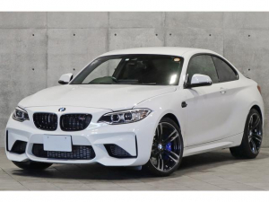 BMW M2 ベースグレード 車検R5年7月 M Performanceカーボンリアスポイラー ブラックキドニーグリル サイドギル ダコタレザー カーボンインテリア レーディパーチャー 鍛造19AW バックカメラ 地デジチューナー