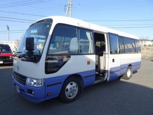 トヨタ コースター マイクロバス ロングGXターボ 29人乗り リヤ観音式扉