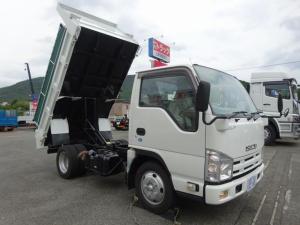 いすゞ エルフトラック 土砂ダンプ 新明和工業製 電動コボレーン付 2トン積み