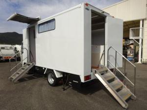 いすゞ エルフトラック 移動販売車 コンビニ 冷凍機 ガソリン発電機 0.45t積み