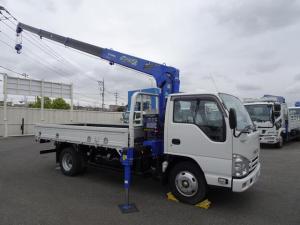 いすゞ エルフトラック  4段クレーン付 タダノ 非警報型 ラジコン付 2.6t吊り 標準幅 ロング 2t積載