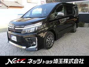 トヨタ ヴォクシー ZS 煌II 純正9型SDナビ Bカメラ 新品タイヤ