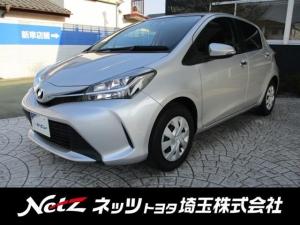トヨタ ヴィッツ 1.3F LEDエディション 元弊社社用車 新品タイヤ