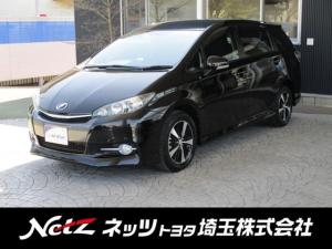 トヨタ ウィッシュ 1.8S 純正SDナビ フルセグ ETC 後席モニター 新品タイヤ